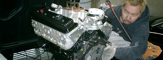 64 Vette Engine Replace